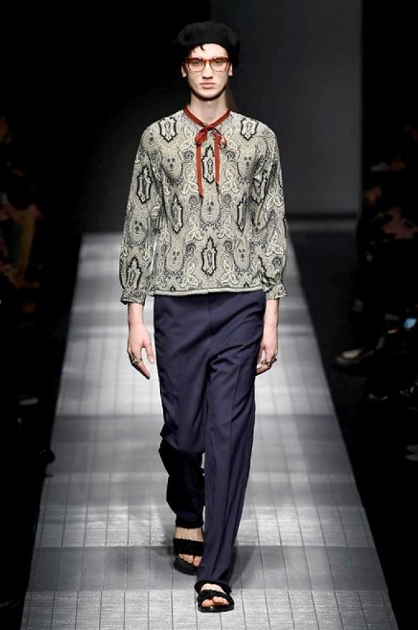 Gucci menswear f w 2015 milan fashion week vanity teen for Gucci milan fashion week