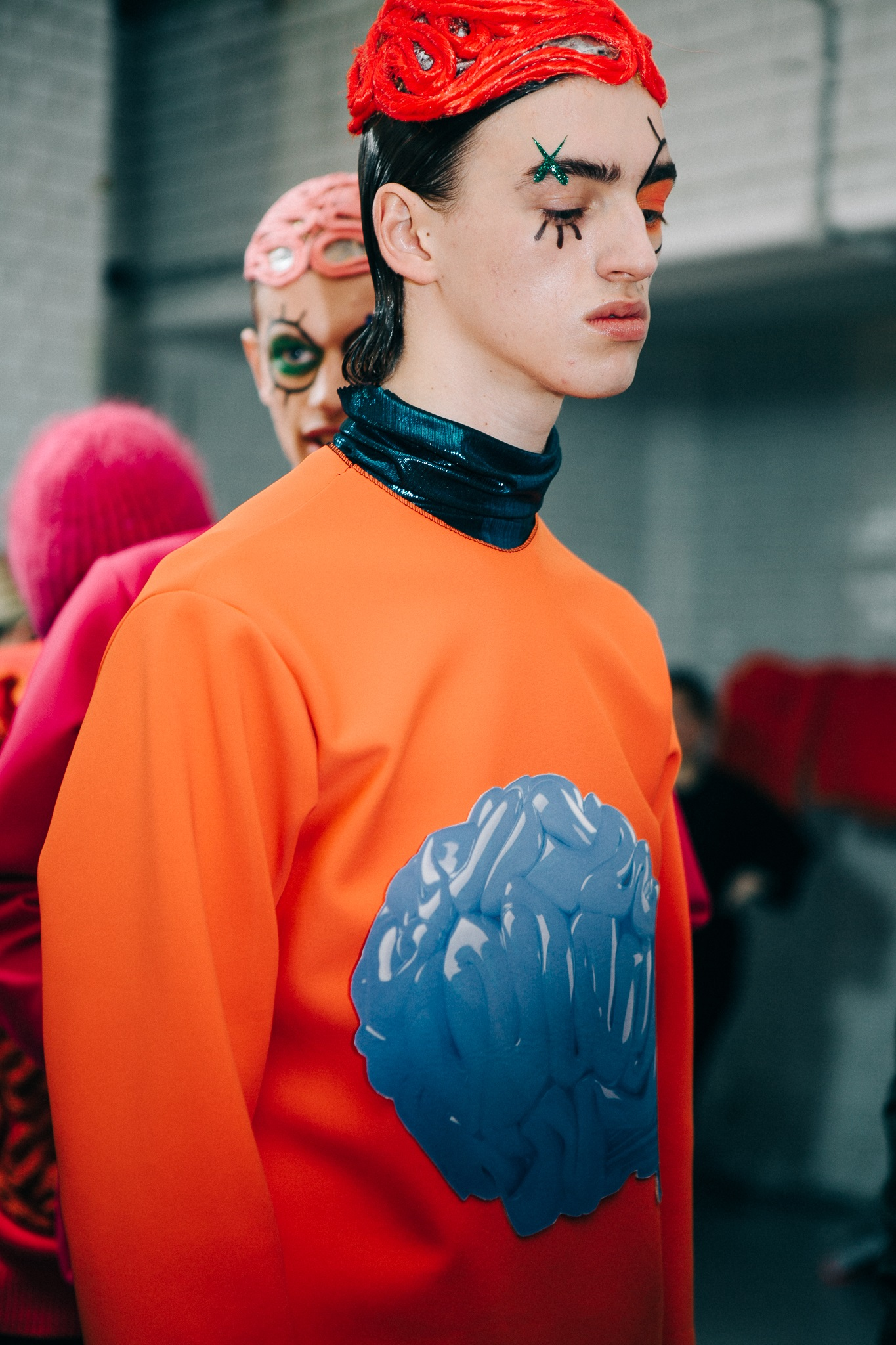 Backstage: Katie Eary F/W 2015 LCM
