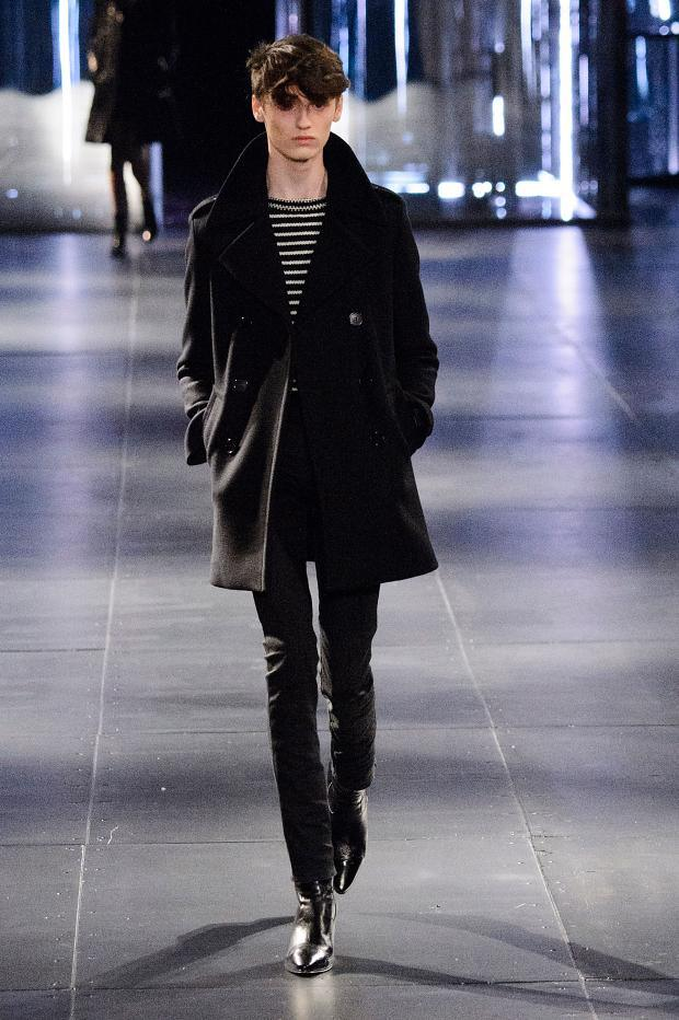 Saint Laurent Fall Winter 2015 Menswear Paris Fashion Week (1)