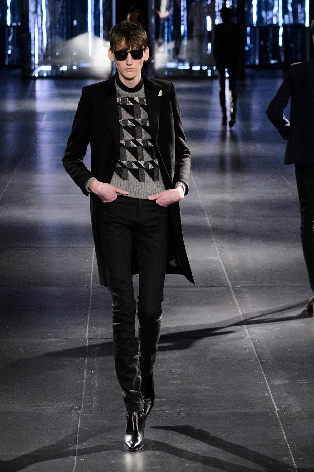 Saint Laurent Fall Winter 2015 Menswear Paris Fashion Week (10)