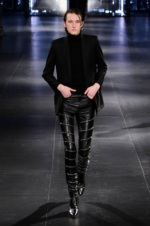 Saint Laurent Fall Winter 2015 Menswear Paris Fashion Week (11)