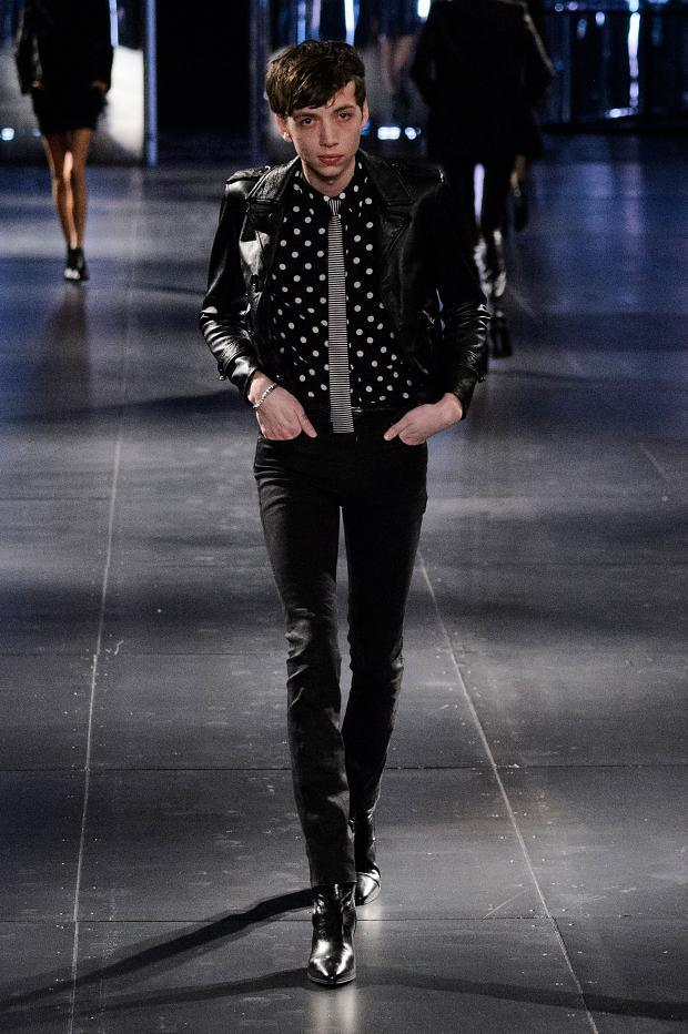 Saint Laurent Fall Winter 2015 Menswear Paris Fashion Week (12)