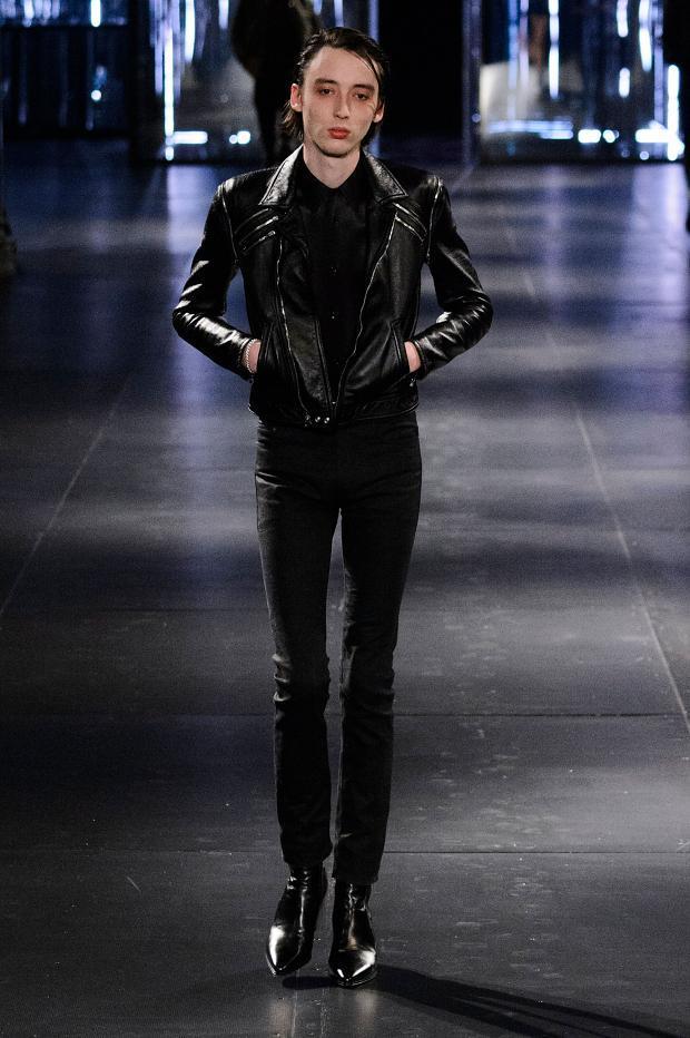 Saint Laurent Fall Winter 2015 Menswear Paris Fashion Week (13)