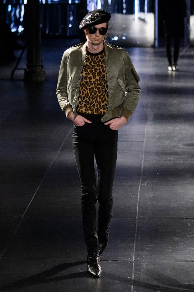 Saint Laurent Fall Winter 2015 Menswear Paris Fashion Week (14)