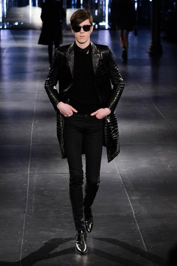 Saint Laurent Fall Winter 2015 Menswear Paris Fashion Week (18)