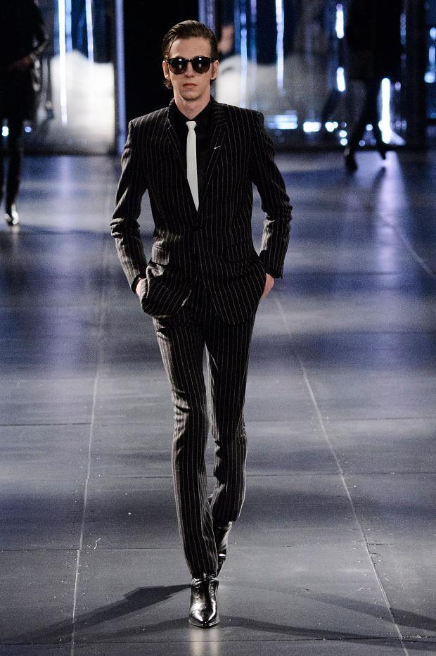 Saint Laurent Fall Winter 2015 Menswear Paris Fashion Week (2)