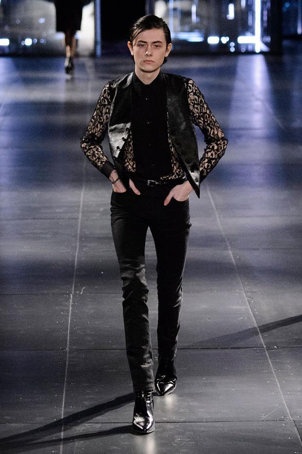 Saint Laurent Fall Winter 2015 Menswear Paris Fashion Week (22)