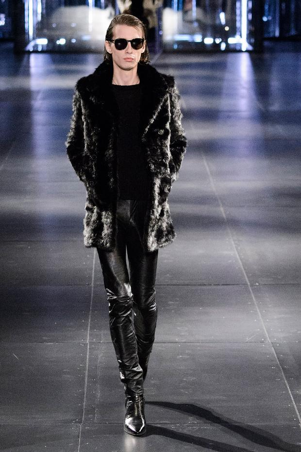 Saint Laurent Fall Winter 2015 Menswear Paris Fashion Week (4)