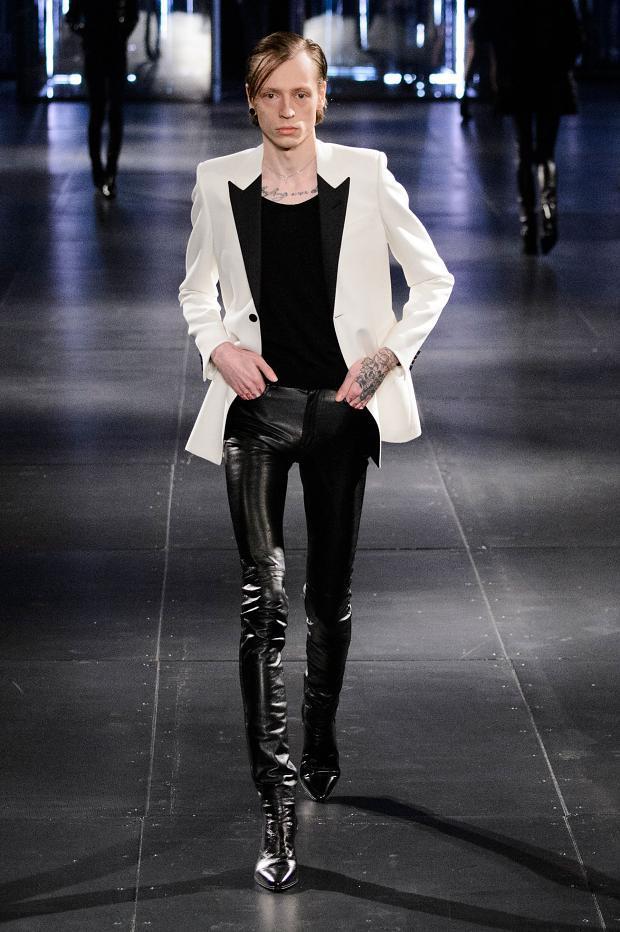 Saint Laurent Fall Winter 2015 Menswear Paris Fashion Week (5)