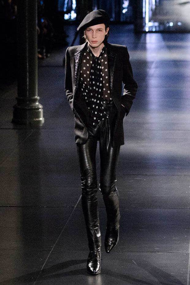 Saint Laurent Fall Winter 2015 Menswear Paris Fashion Week (8)