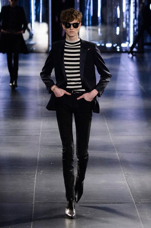 Saint Laurent Fall/Winter 2015 Menswear Paris Fashion Week