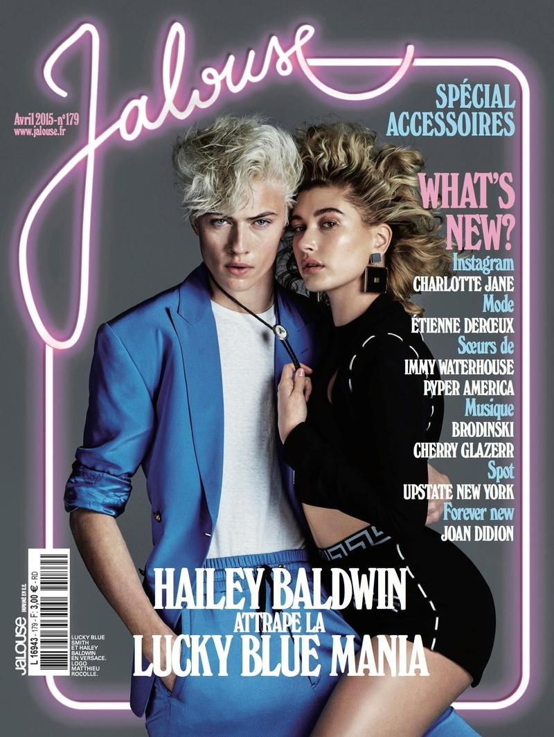 Hailey Got Lucky Blue - Jalouse Magazine (1)