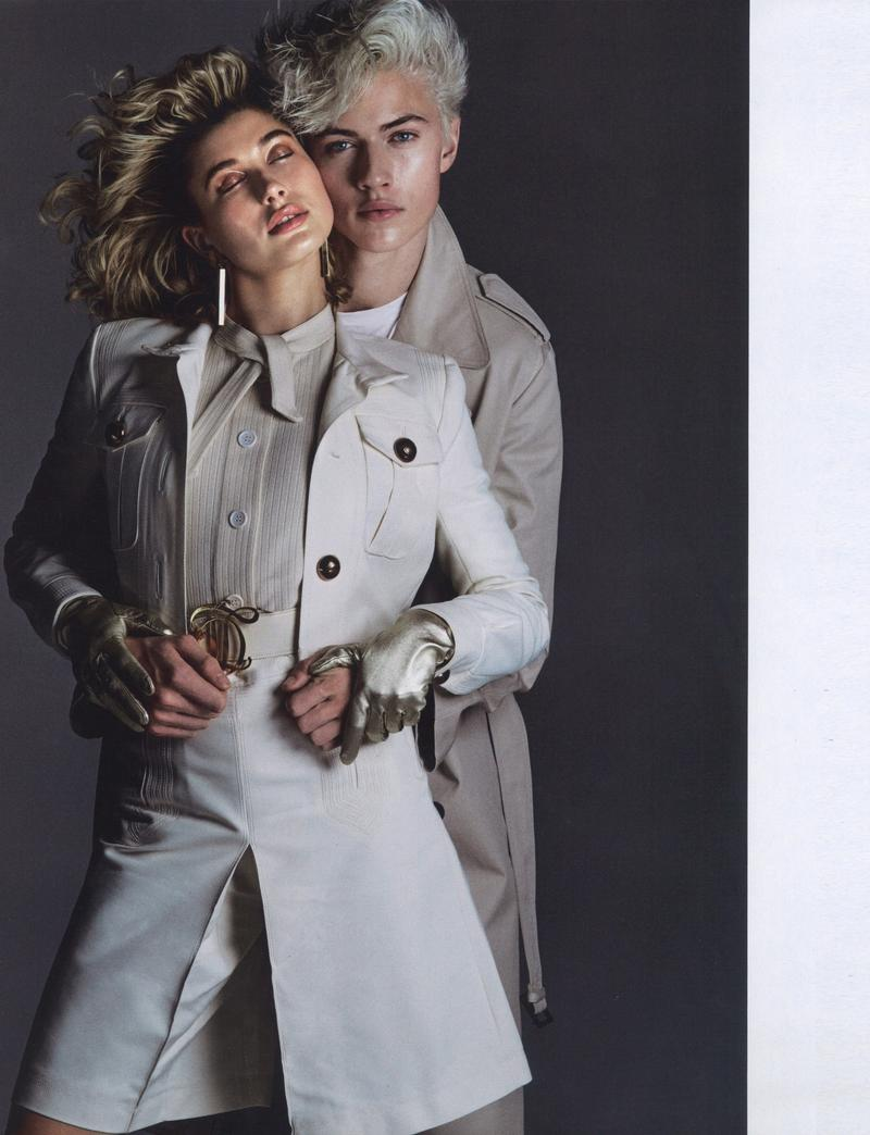 Hailey Got Lucky Blue - Jalouse Magazine (3)