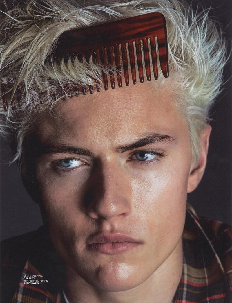 Jalouse magazine introduces Lucky Blue Smith