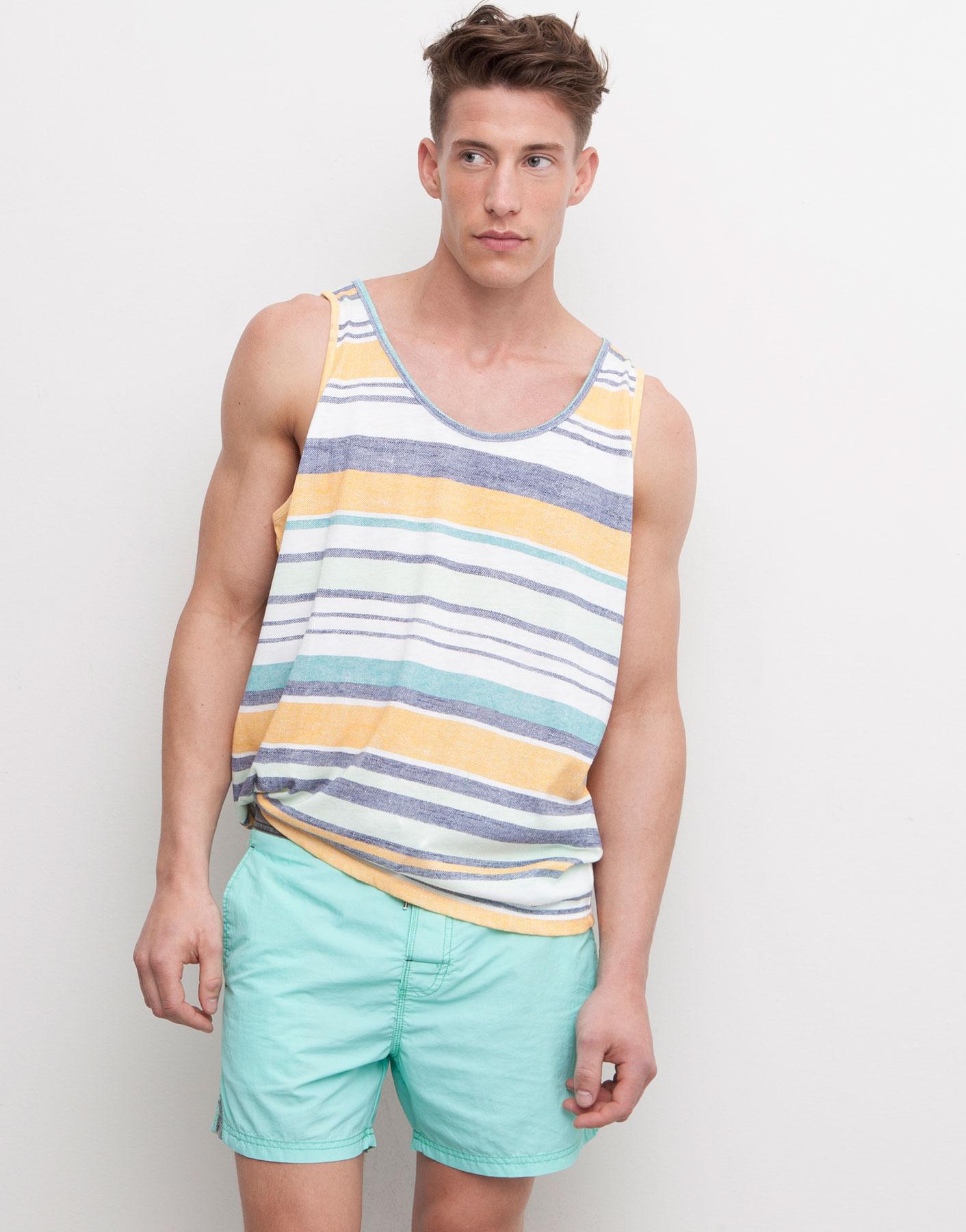 Pull & Bear S/S 2015 Beachwear Lookbook Pull & Bear S/S 2015 Beachwear Lookbook Vanity Teen Menswear & new faces magazine