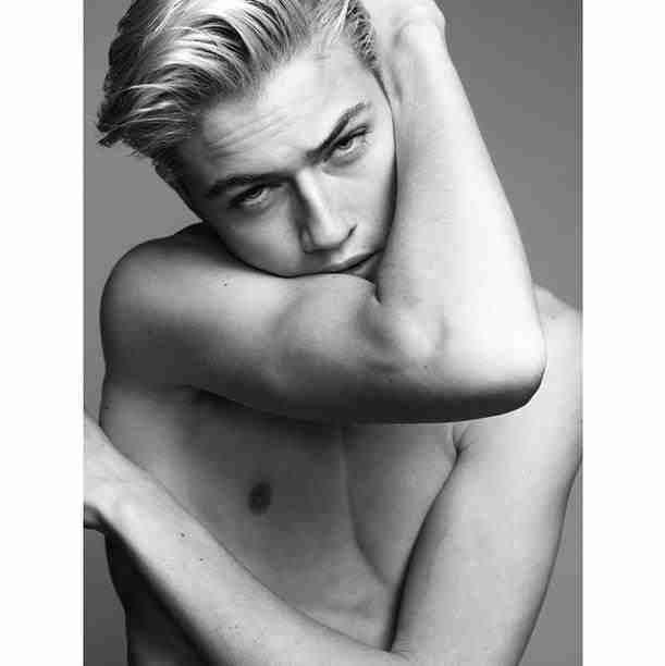 Lucky Blue Smith by Nico Bustos