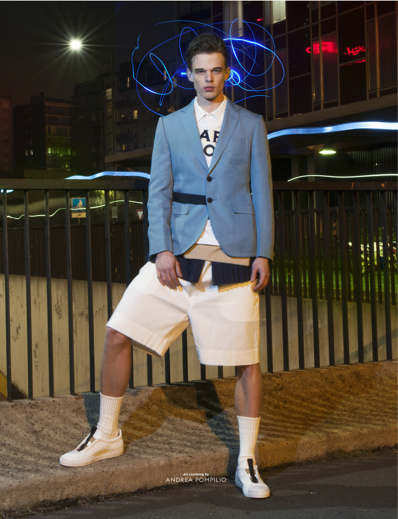 André Bona Brings To Light Latest Styles for CALEO Magazine