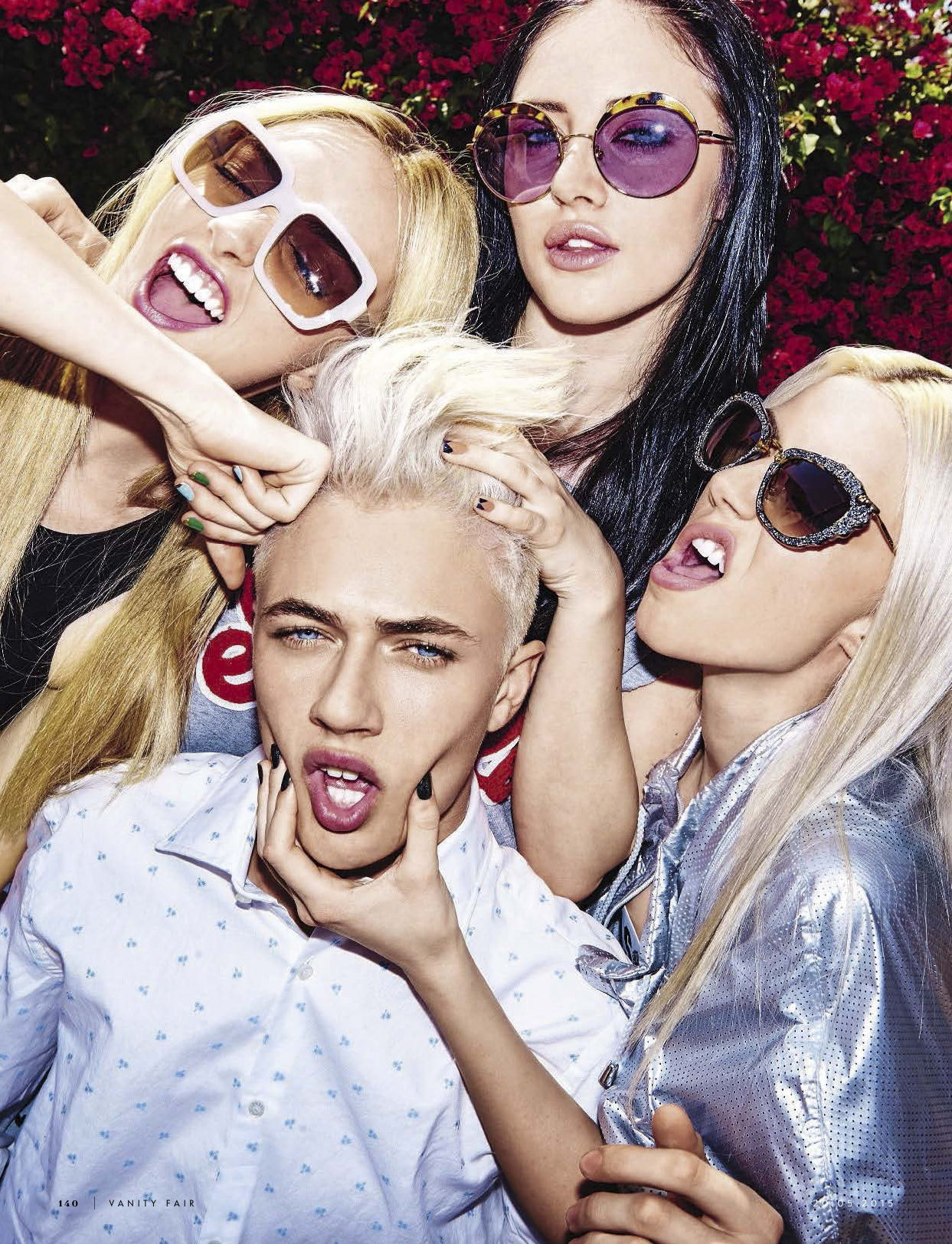 "Lucky Blue Smith ""Brother & Sisters"" for Vanity Fair Italia"