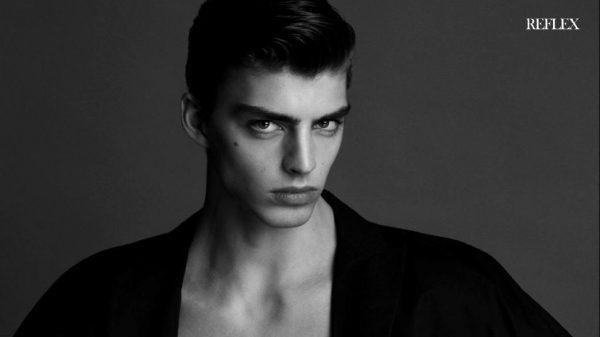 Daan van der Deen in Reflex Homme Daan van der Deen in Reflex Homme Vanity Teen Menswear & new faces magazine