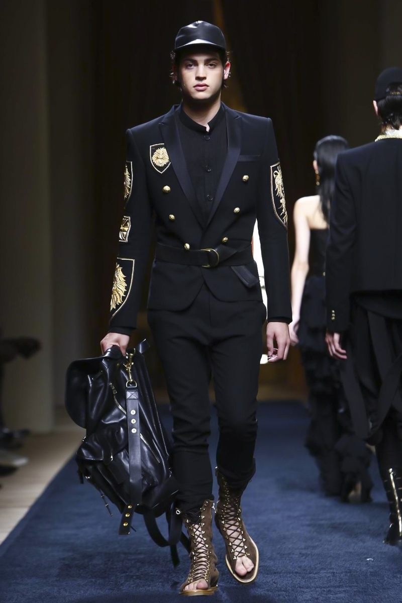 Balmain Spring Summer 2016 Menswear Paris