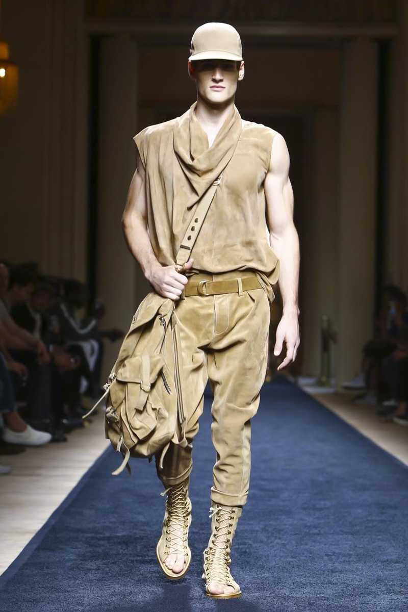 Balmain Spring Summer 2016 Menswear | Paris