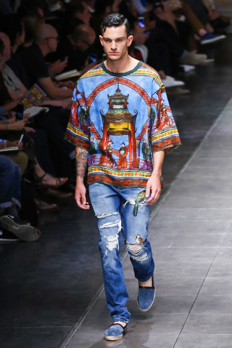 Dolce&Gabbana S/S 2016 Men's Fashion