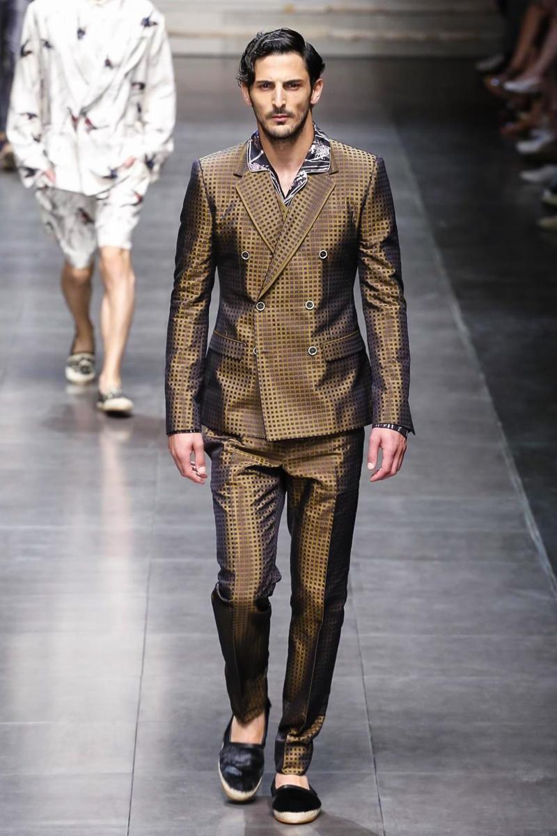 Dolce & Gabbana Menswear Spring Summer 2016 in Milan