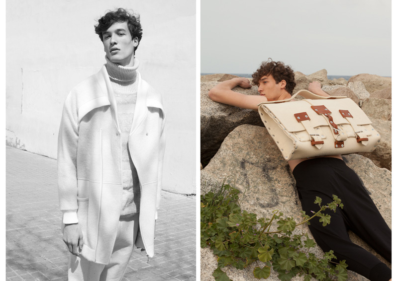 Marçal Taberner in Gritf  Marçal Taberner in Gritf Vanity Teen Menswear & new faces magazine