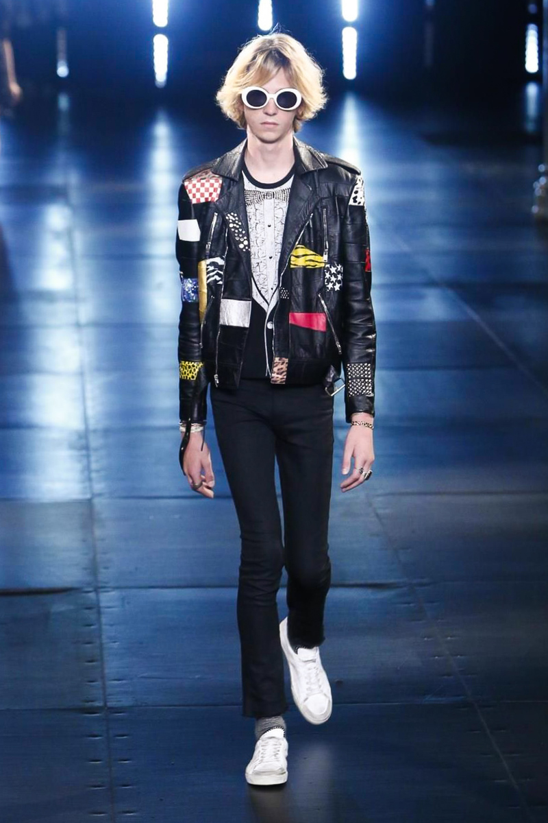 Saint Laurent Menswear Spring Summer 2016 | Paris