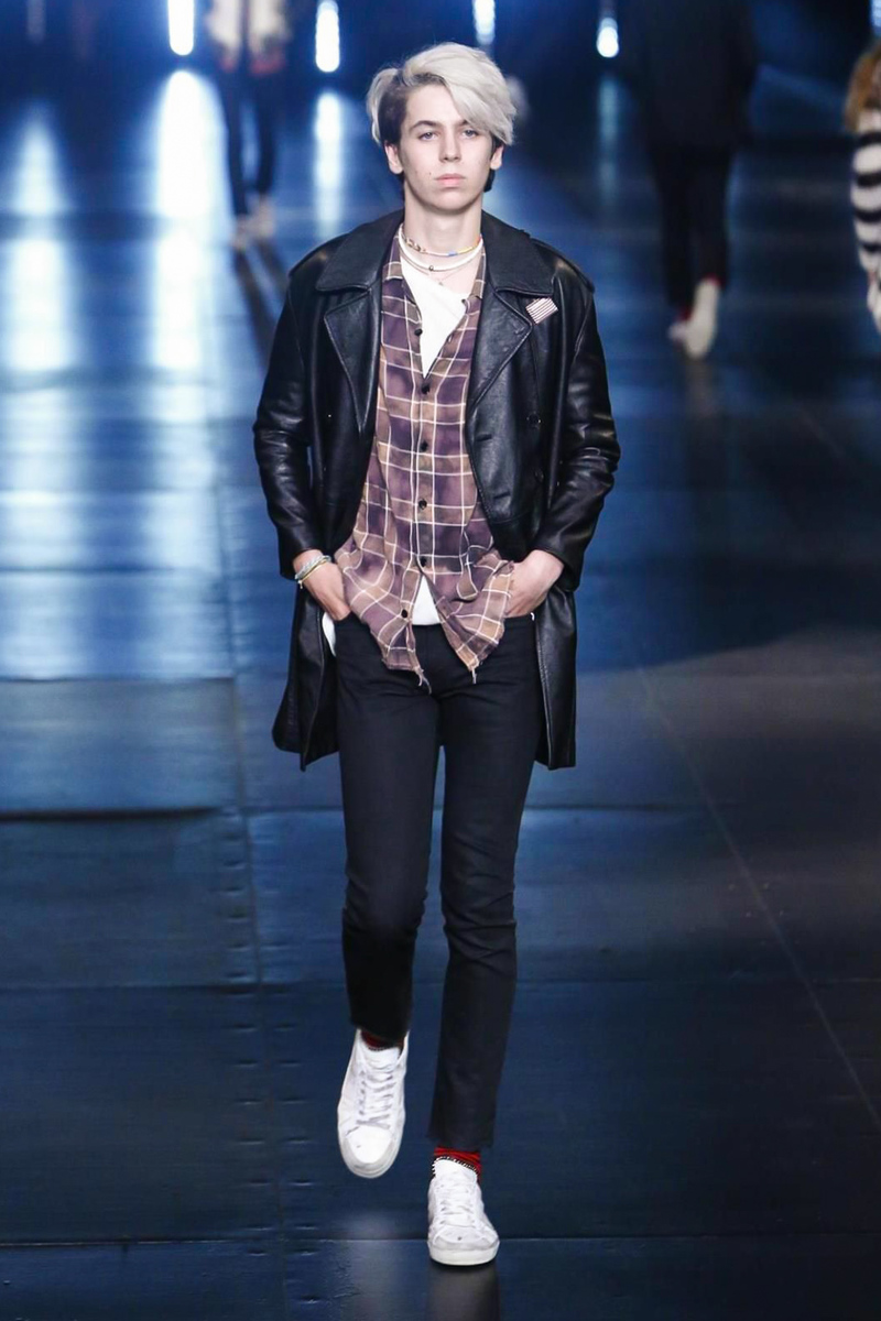 Saint Laurent Menswear Spring Summer 2016 in Paris
