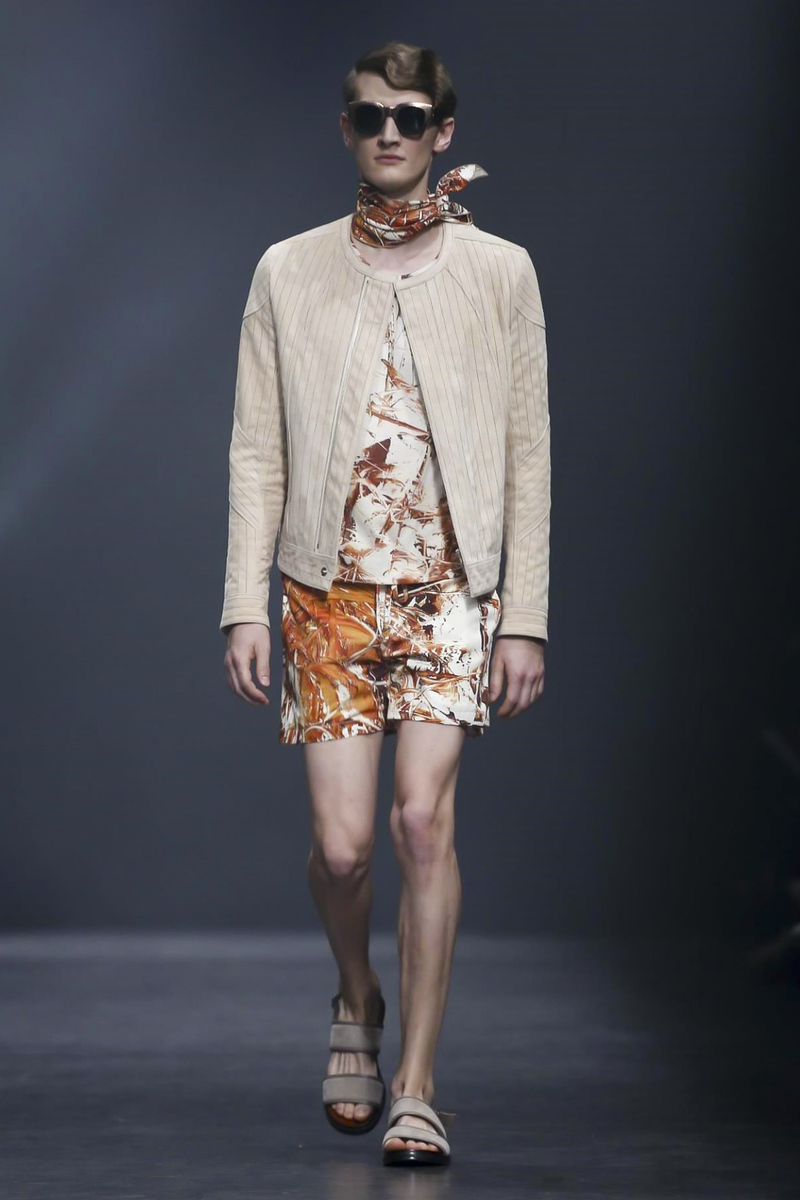 Songzio Collection Spring Summer 2016 Menswear in Paris