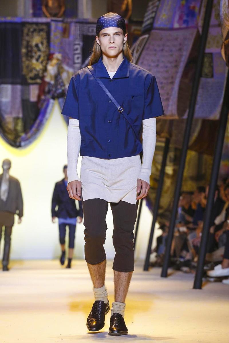 Versace, Spring Summer 2016 Menswear Milan