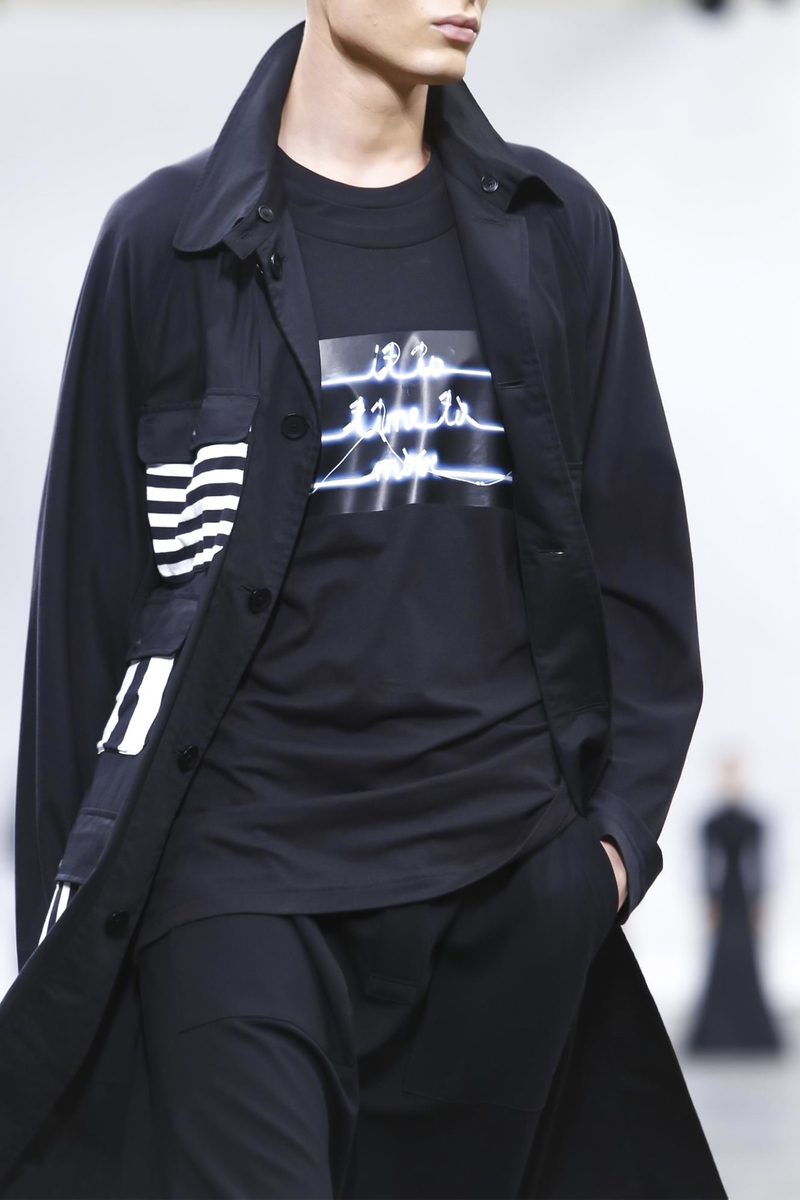 Y-3 Spring Summer 2016 Menswear Paris