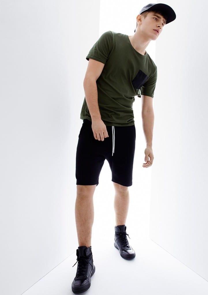 Bo Develius for Simons Lookbook — Vanity Teen