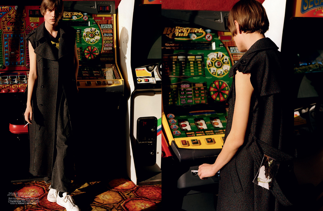 Fruit Machine editorial Man About Town Fruit Machine editorial Man About Town Vanity Teen Menswear & new faces magazine