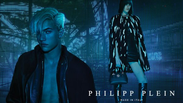 Lucky Blue Smith for Philipp Plein 2015/16  Lucky Blue Smith for Philipp Plein 2015/16 Vanity Teen Menswear & new faces magazine