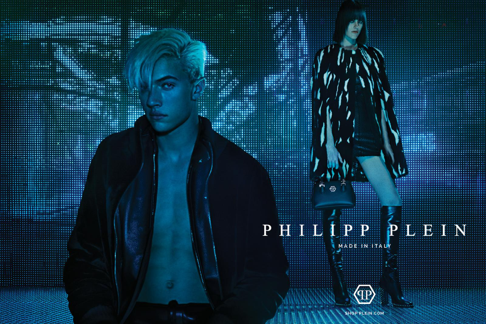 Lucky Blue Smith for Philipp Plein 2015/16