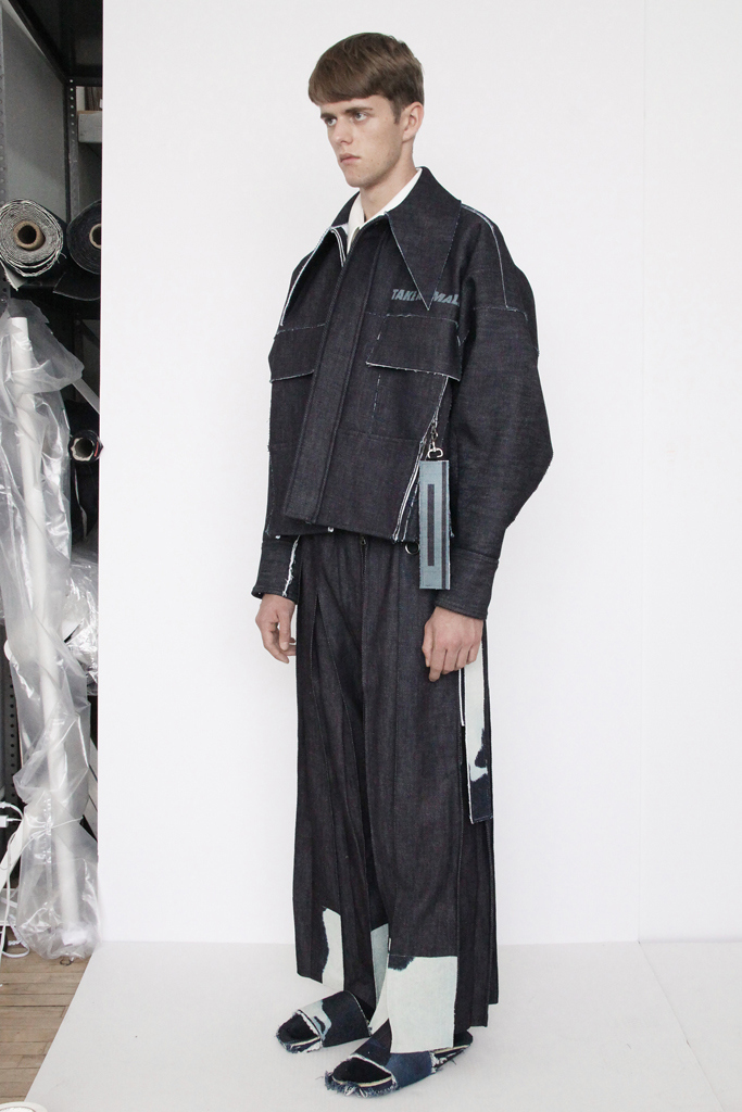 Ximon Lee Men's RTW Spring 2016