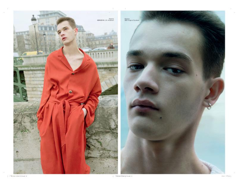 Guy Gee + Lemmie Van Den Berg +  X. Hickman by Fan Xin