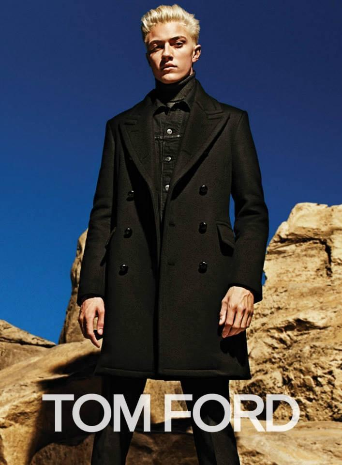 Lucky Blue Smith Tom Ford F/W 2015 Campaign