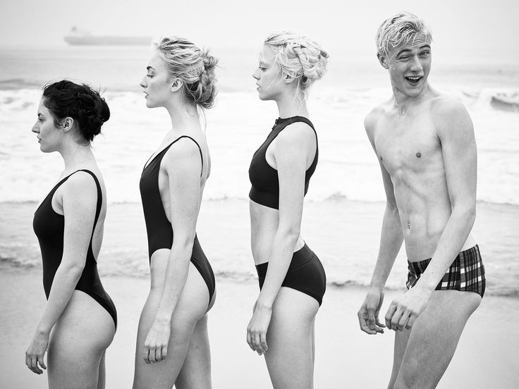 Lucky Blue Smith & Sisters For Trendi Magazine