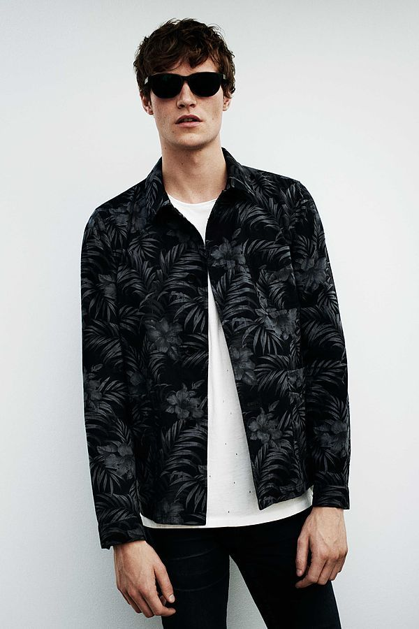 Matthew Hitt for AllSaints July Lookbook