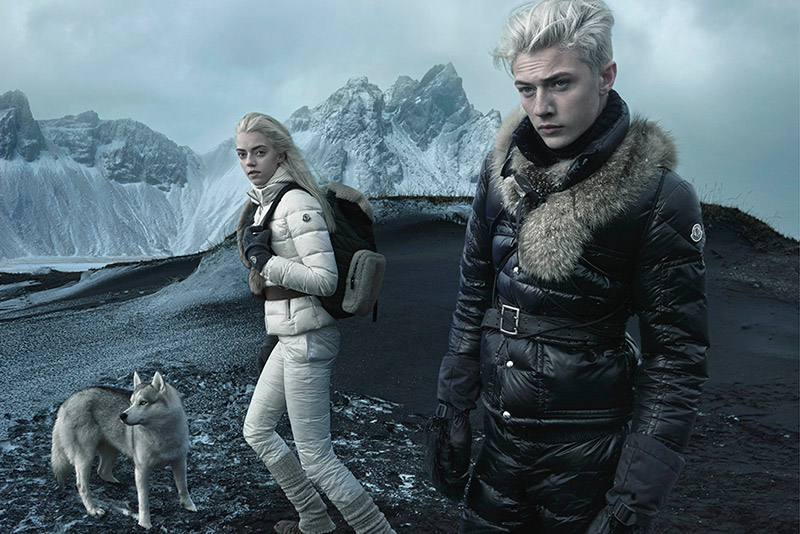 Lucky Blue Smith for Moncler F/W 2015