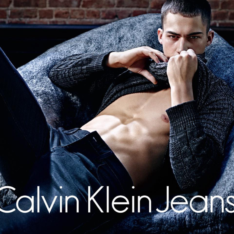 Alessio Pozzi for CK F/W 2015 by Mario Sorrenti