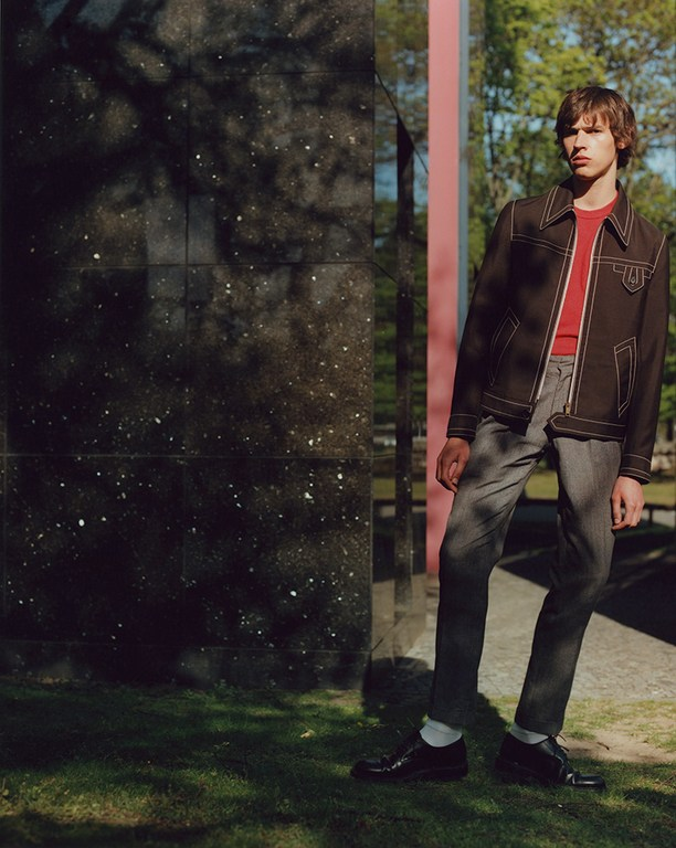 Charlie Cooper + Artur Chruszcz by Markus Pritzi for L'Officiel Hommes Germany