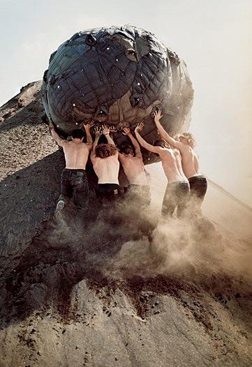 Bruce Weber for Moncler's F/W.15