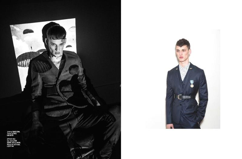 David Trulik for August Man David Trulik for August Man Vanity Teen 虚荣青年 Menswear & new faces magazine