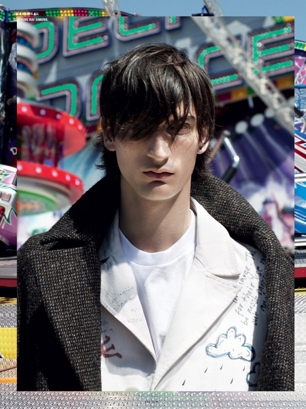Louis Bauvir + Luca Lemaire + Wojtek Czerski by Willy Vanderperre for I-D