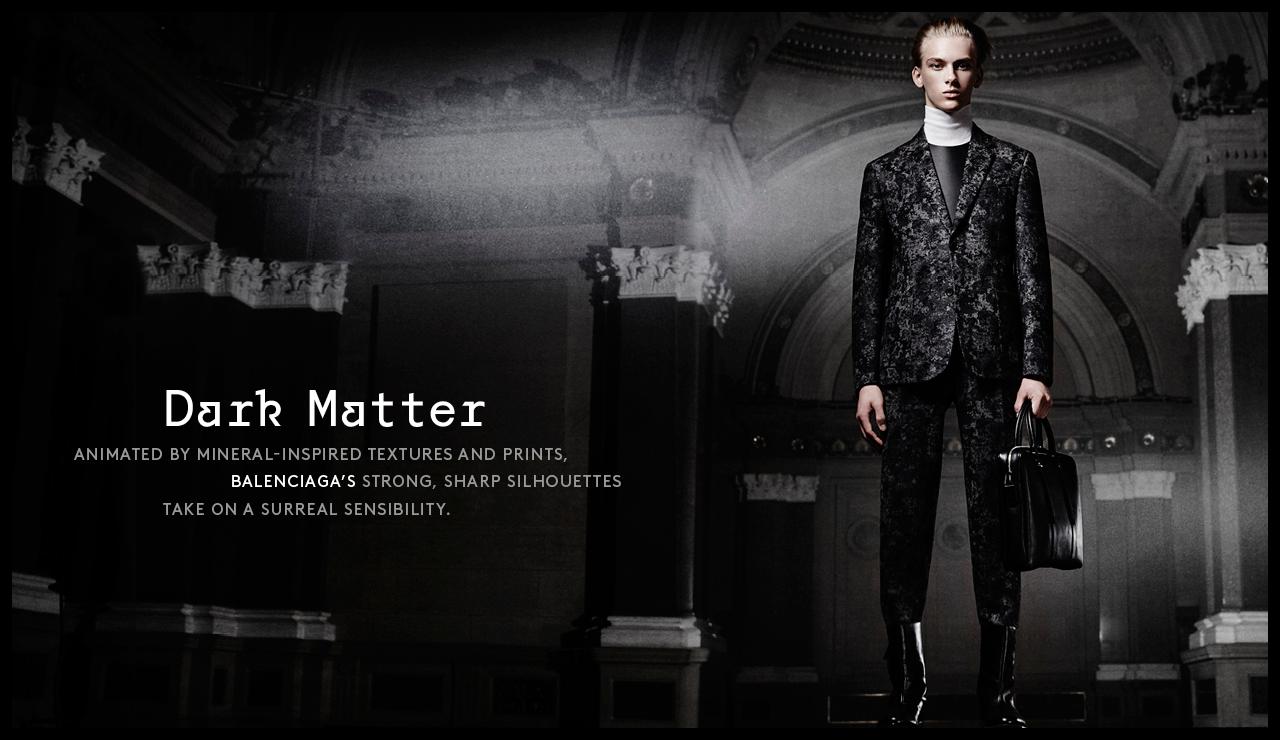Barneys Balenciaga Fall 2015 Menswear Look Book