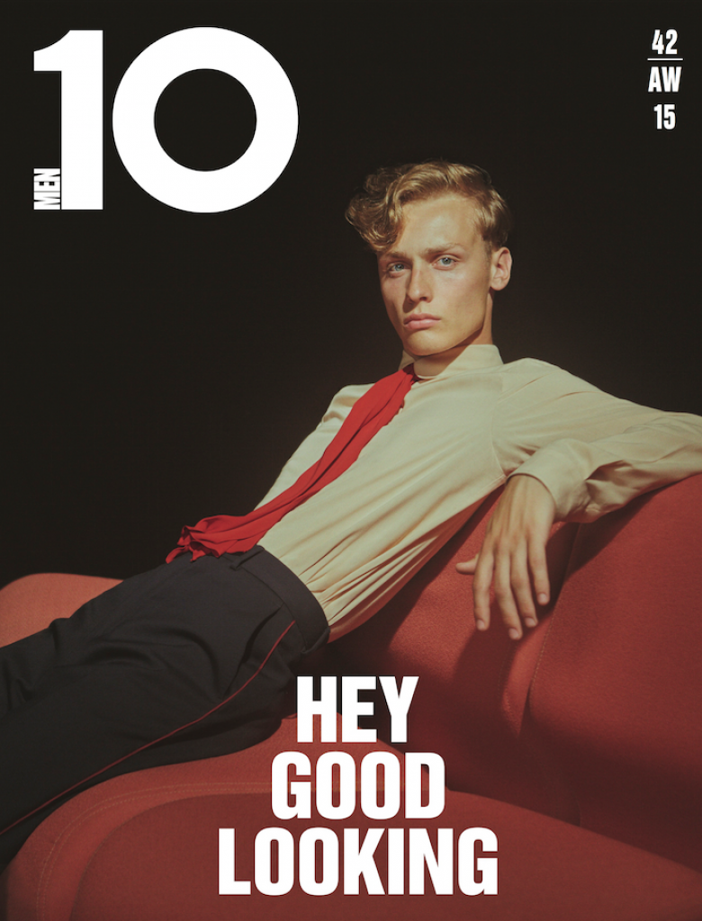 Dylan Bell by Charlotte Wales 10 Mag FW 15 Cover